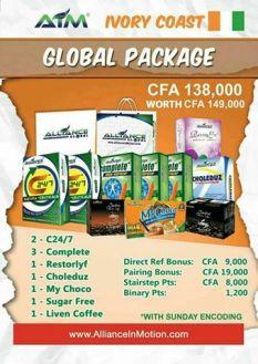 ivory coast global package